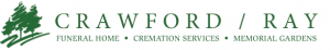 Logo for Crawford Ray funeral home in Canton, NC.